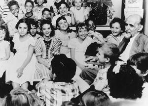 Juan ramón y los niños