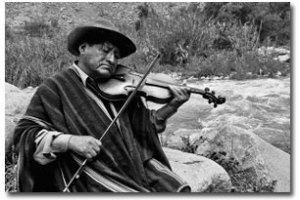Máximo Damián, violinista amigo de de José María Arguedas