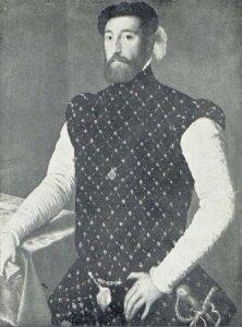 Supuesto retrato de Garcilaso, de autor anónimo, conservado en la Galería de Kassel (Alemania)