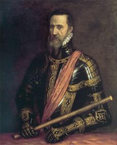Don Pedro de Toledo, Duque de Alba, protector de Garcilaso, quien le dedica la Égloga I