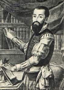 Retrato del sobrino del poeta erróneamente identificado con él.
