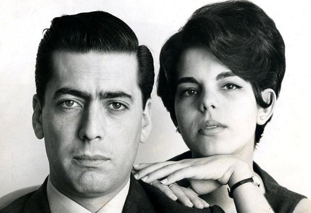 Vargas Llosa posa junto a su esposa, Patricia Llosa copia