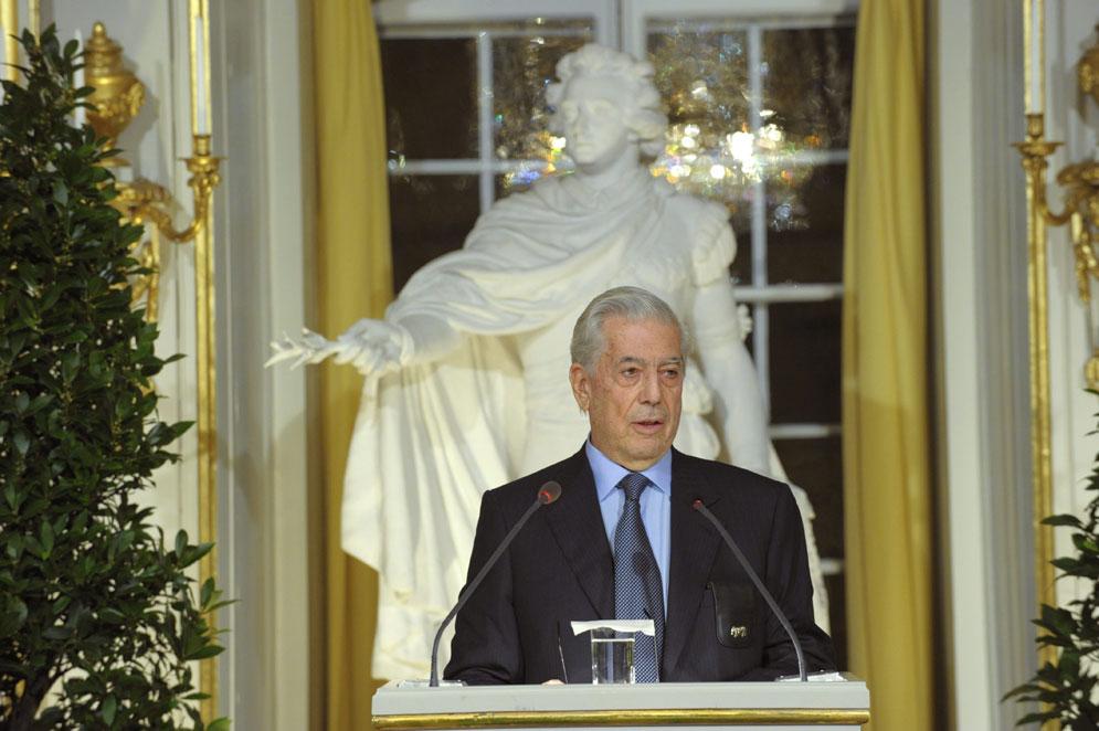 Discurso del Premio Nobel Mario VargasLlosa