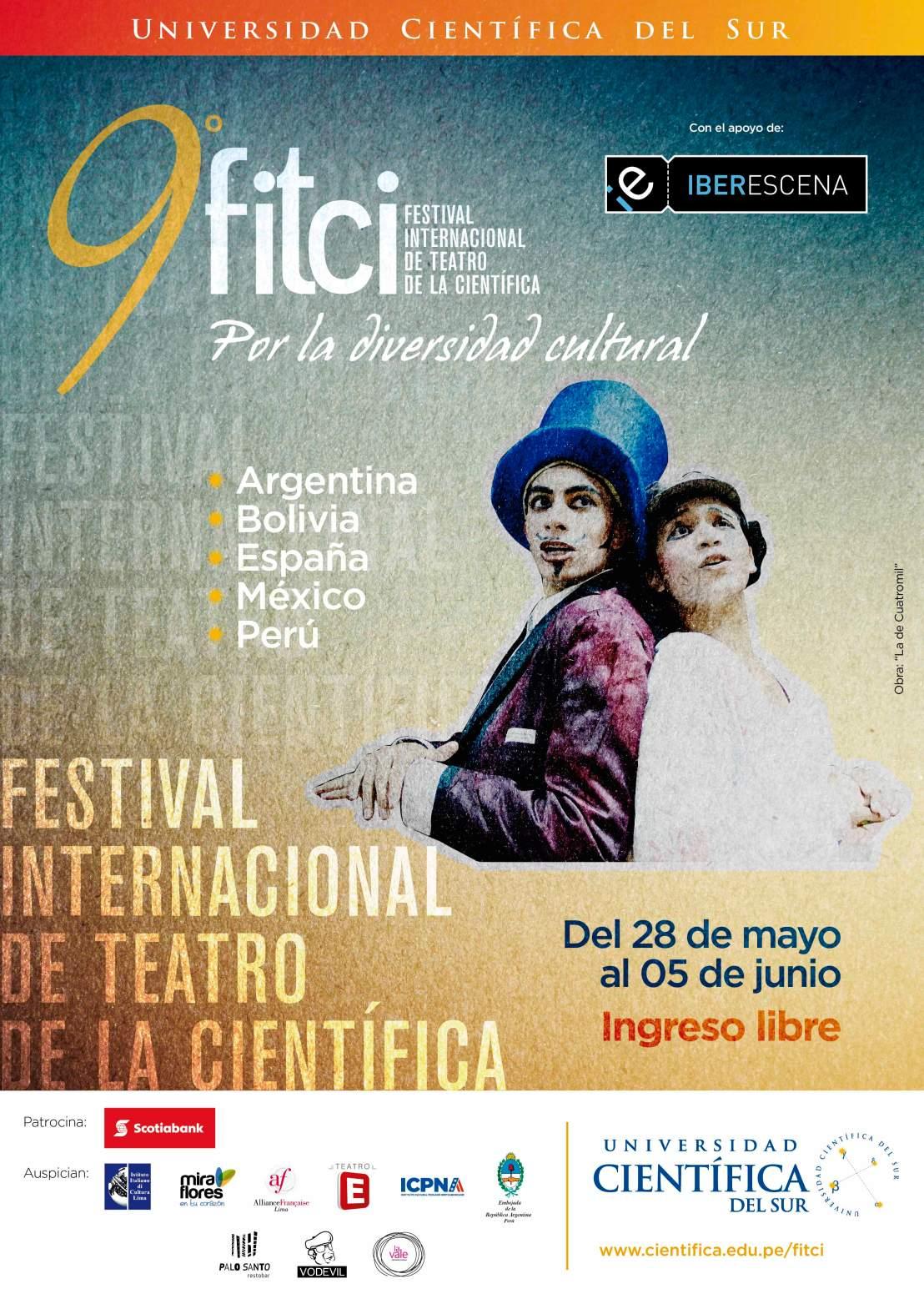9° Festival Internacional de Teatro de la Universidad Científica delSur